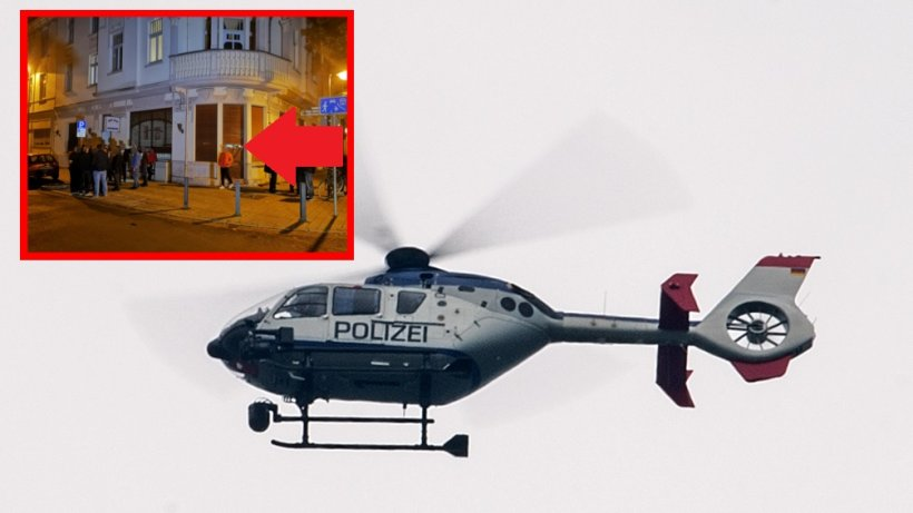 Herne: 350 Kurden demonstrieren ++ Lage eskaliert ++ Hubschrauber im Einsatz