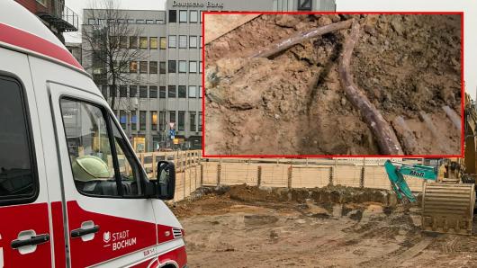 Der vermutete Kampfmittelfund in Bochum hat sich nicht bestätigt. Stattdessen entdeckte ein Experte etwas ganz anderes.