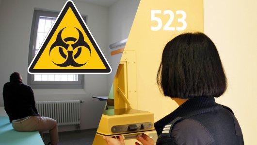 Coronavirus: Für Insassen in NRW-Gefängnissen gelten in der Covid-19-Pandemie neue Regeln.