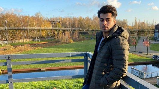 Diar Abdi kam als Flüchtling aus dem Iran nach Deutschland und arbeitet mittlerweile als Altenpflegehelfer in Bochum.