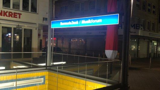 Das Bermudadreieck in Bochum steht seit des Lockdowns still.