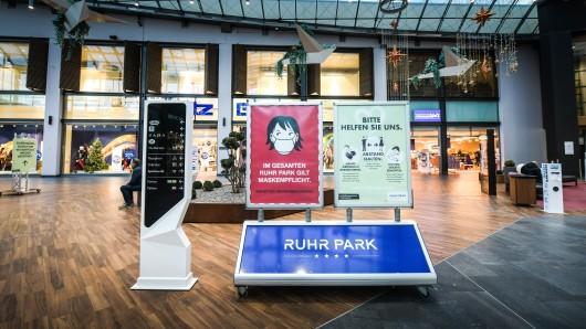 """Der Ruhrpark Bochum hat wieder """"richtig"""" geöffnet. (Archivfoto)"""