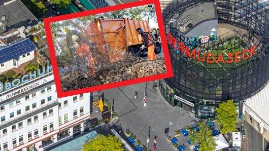 In der Stadt Bochum wurden zuletzt tausende Körbe aufgestellt - aus gutem Grund.