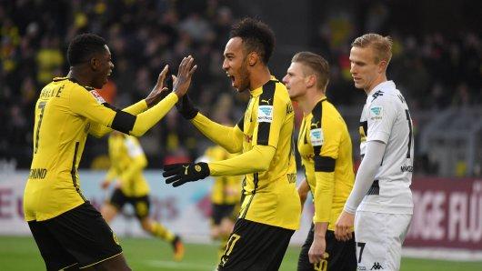 Ousmane Dembélé traf gegen Gladbach - Aubameyang sogar doppelt
