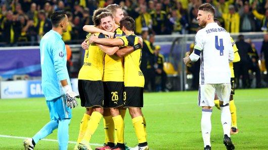 Wie im Hinspiel benötigt der BVB zwei Treffer gegen Real für den alleinigen Torrekord.