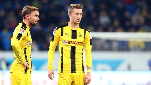 Marcel Schmelzer und Marco Reus standen Thomas Tuchel als BVB-Kapitän zur Auswahl.