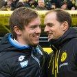 Julian Nagelsmann wird es nicht. Lucien Favre (l.) soll in Dortmund auf Thomas Tuchel folgen.