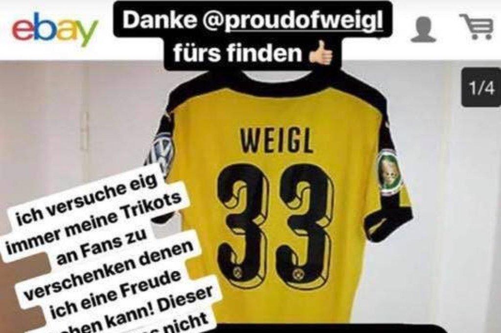 BVB-Star Julian Weigl haut wegen Trikot-Irrsinn auf den Tisch! Das ...