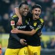 Michy Batshuayi und der BVB hatten allen Grund zur Freude.