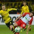 Marco Reus und Co. trafen am Montagabend auf den FC Augsburg.