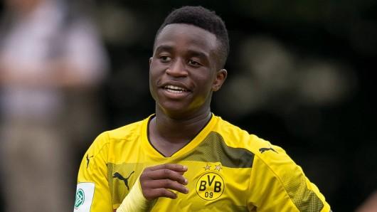 Youssoufa Moukoko war in der U17 von Borussia Dortmund mal wieder der Matchwinner.