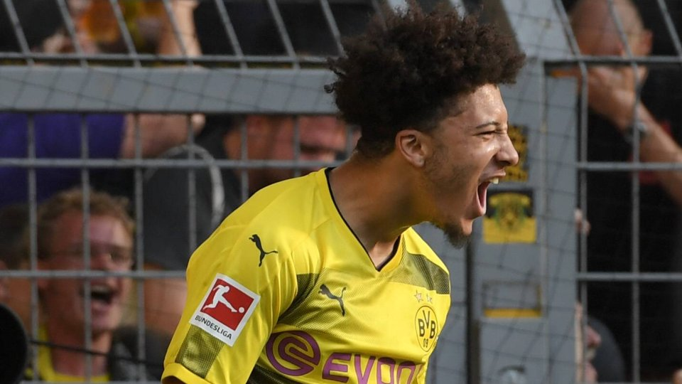 Jadon Sancho drehte bei Borussia Dortmund so richtig auf.