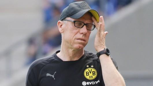 Peter Stöger verlässt Borussia Dortmund.