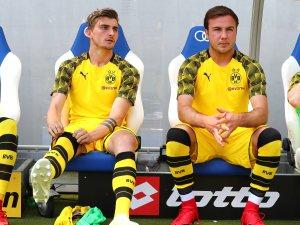 Mario Götze saß in Hoffenheim 90 Minuten auf der Bank.