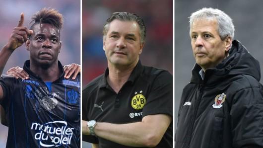 Mario Balotelli wurde zuletzt bei Borussia Dortmund ins Spiel gebracht.