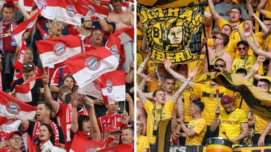 Die Fans von Borussia Dortmund und dem FC Bayern München sind seit jeher Rivalen.