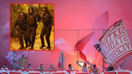 1. fc köln union berlin polizei fans hooligans ultras ausschreitungen randale