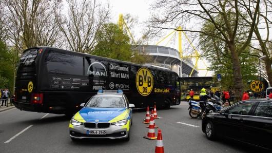Borussia Dortmund wurde 2017 Opfer eines miesen Anschlags.