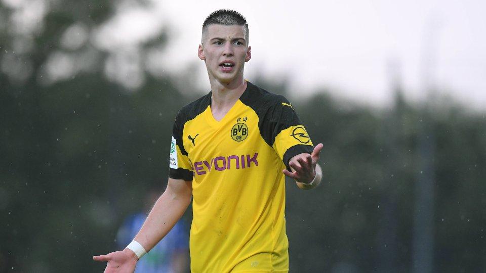 Borussia Dortmunds U19-Youngster Tobias Raschl.