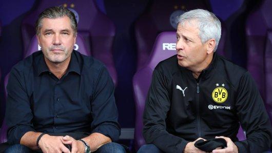 Bei Borussia Dortmund hadern Michael Zorc und Lucien Favre mit den vielen Länderspielen.