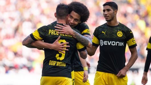 Borussia Dortmund glänzt beim VfB Stuttgart und gewinnt 4:0.