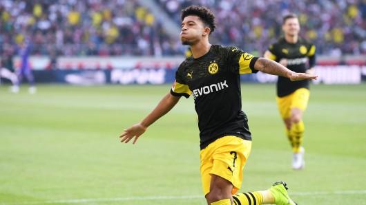 """Jadon Sanchos frühes Tor zeigt: Borussia Dortmund kann auch """"Blitzstart""""."""