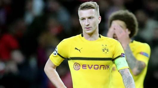 BVB-Kapitän Marco Reus war mit der leistung von Borussia Dortmund gegen Atletico Madrid nicht zufrieden.