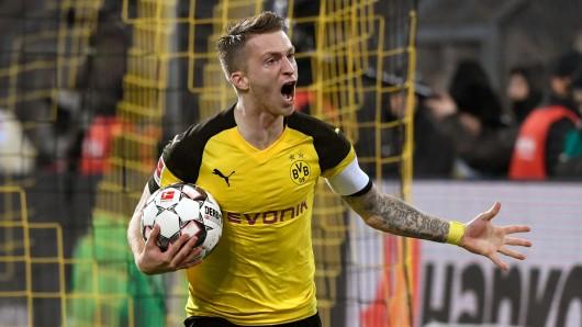 Dortmund gegen Bayern im Live-Ticker: Marco Reus glich zwei Mal für den BVB aus.