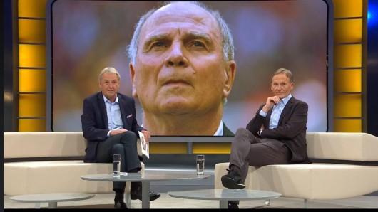 "Bei Sky diskutierten Jörg Wontorra, ""Aki"" Watzke und Uli Hoeneß."