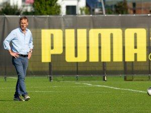 Borussia Dortmund hat den Vertrag mit Puma verlängert (hier: BVB-Geschäftsführer Hans-Joachim Watzke; Archivbild)