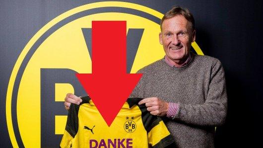 """Das """"Danke Kumpel""""-Trikot von Borussia Dortmund."""
