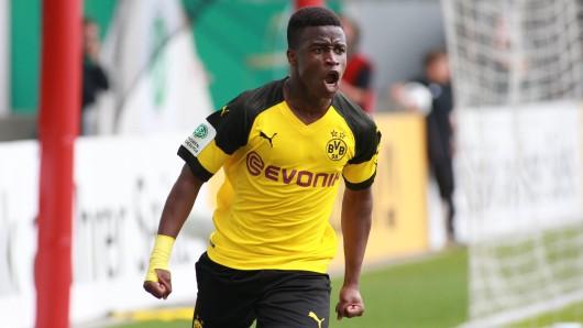 Borussia Dortmunds Supertalent Youssoufa Moukoko.