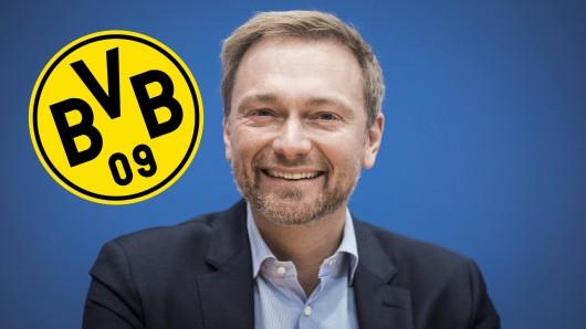 Christian Lindner sitzt fortan im Wirtschaftsrat von Borussia Dortmund.