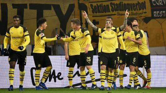 Nach dem Spiel in Mainz musste die Pressekonferenz von Borussia Dortmund wegen eines Feueralarms unterbrochen werden.