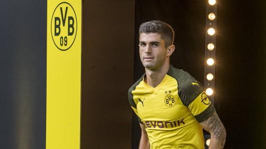 Christian Pulisic von Borussia Dortmund.