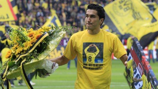Bei seinem BVB-Abschied 2011 weinte Nuri Sahin bittere Tränen.