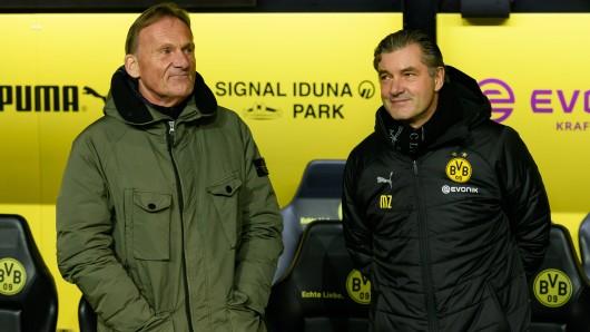Borussia Dortmunds Denker und Lenker: Hans-Joachim Watzke (l.) und Michael Zorc.