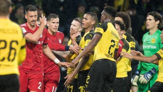 Borussia Dortmund und der FC Bayern kämpfen um die Tabellenspitze.