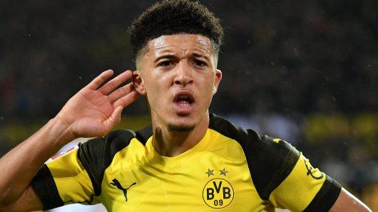 Bei Borussia Dortmund entwickelte Jadon Sancho sich zum Starspieler.