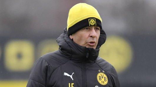 Mit Borussia Dortmund will Lucien Favre genau dort weitermachen, wo er in der Hinrunde aufgehört hatte.