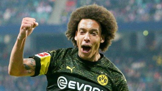 RB Leipzig - Borussia Dortmund im Live-Ticker: Der BVB ging durch Axel Witsel 1:0 in Führung.