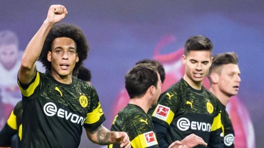 Axel Witsel schoss Borussia Dortmund in Leipzig zum Sieg.