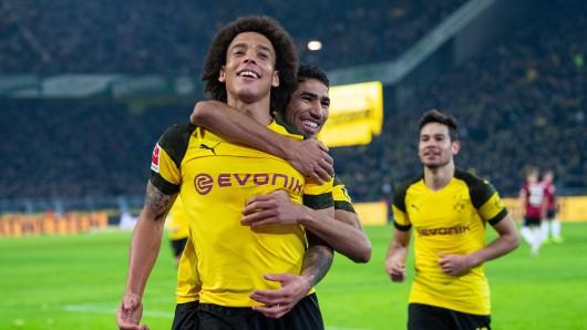Borussia Dortmund hat Hannover 96 zu Hause 5:1 besiegt.