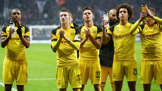Borussia Dortmund holte bei Eintracht Frankfurt nur einen Punkt, darf sich am vergangenen Spieltag dennoch als Gewinner fühlen.