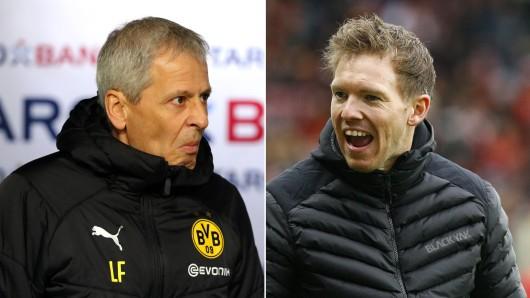 Borussia Dortmund und Lucien Favre treffen am Samstag auf Julian Nagelsmann und 1899 Hoffenheim.