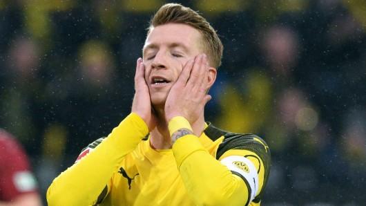 Marco Reus verletzte sich im Spiel von Borussia Dortmund gegen Werder Bremen.