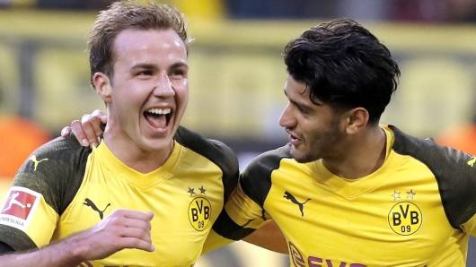Mario Götze und Borussia Dortmund sind am Mittwochabend bei Tottenham Hotspur zu Gast.