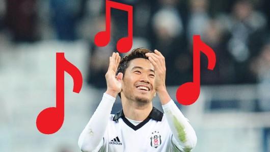 Wie bei Borussia Dortmund erhielt Shinji Kagawa auch bei Besiktas seinen eigenen Fangesang.