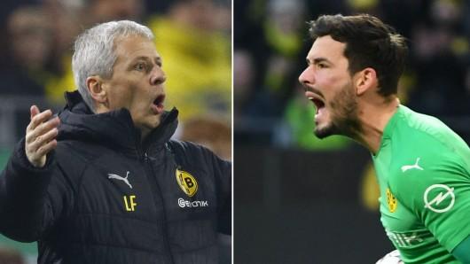 Bei Borussia Dortmund platzte Roman Bürki nach dem 0:3 bei Tottenham der Kragen.
