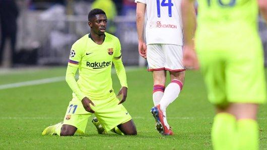 Ousmane Dembélé: Wie schon bei Borussia Dortmund, so steht er auch beim FC Barcelona immer wieder in den Schlagzeilen.